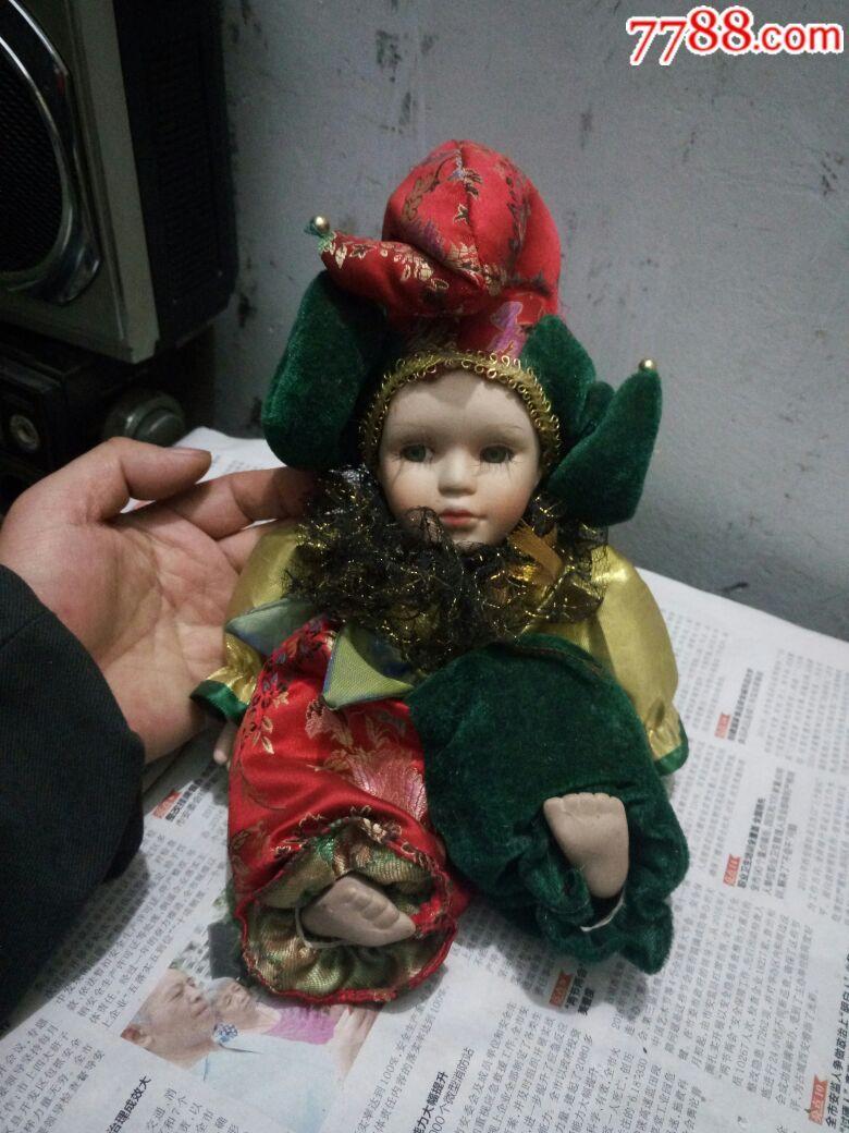 手工制作小丑娃娃