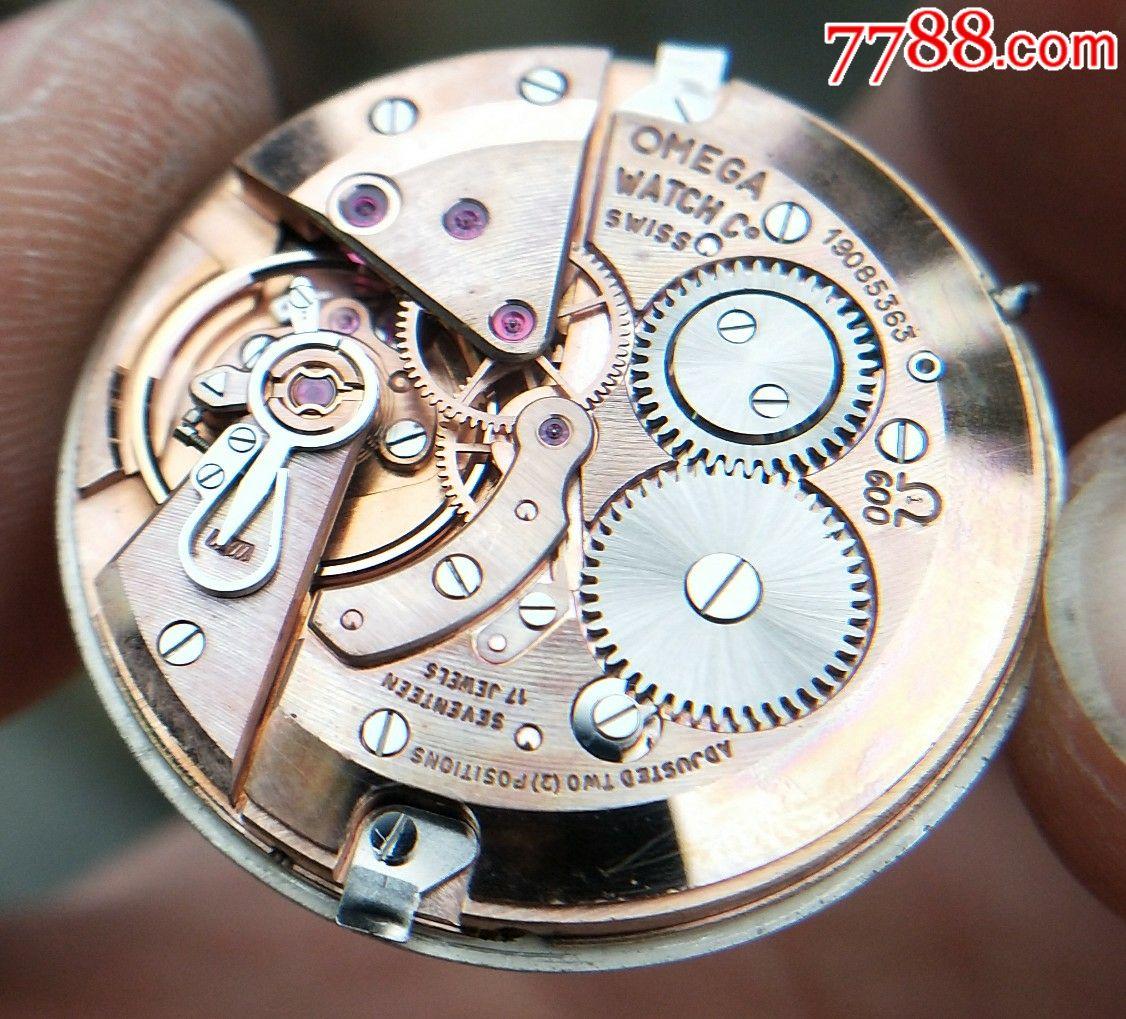 《新发布》二手手表:瑞士古董欧米茄海马手卷机械表图片