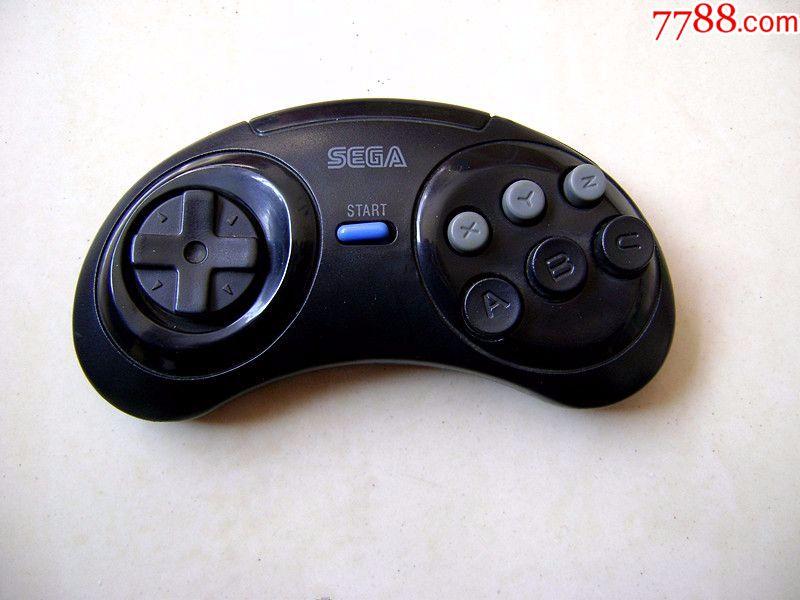 世嘉md2游戏机手柄,早期手柄,线坏,主板正常,配件,看好拍