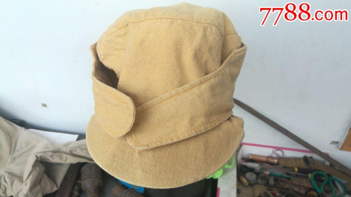 黄布帽子图片