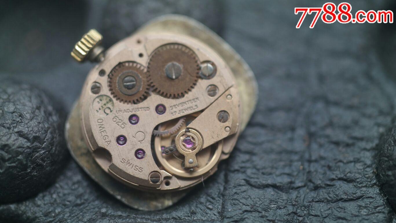 瑞士原装欧米茄蝶飞625女式手动机械表机芯-au-手表/-图片
