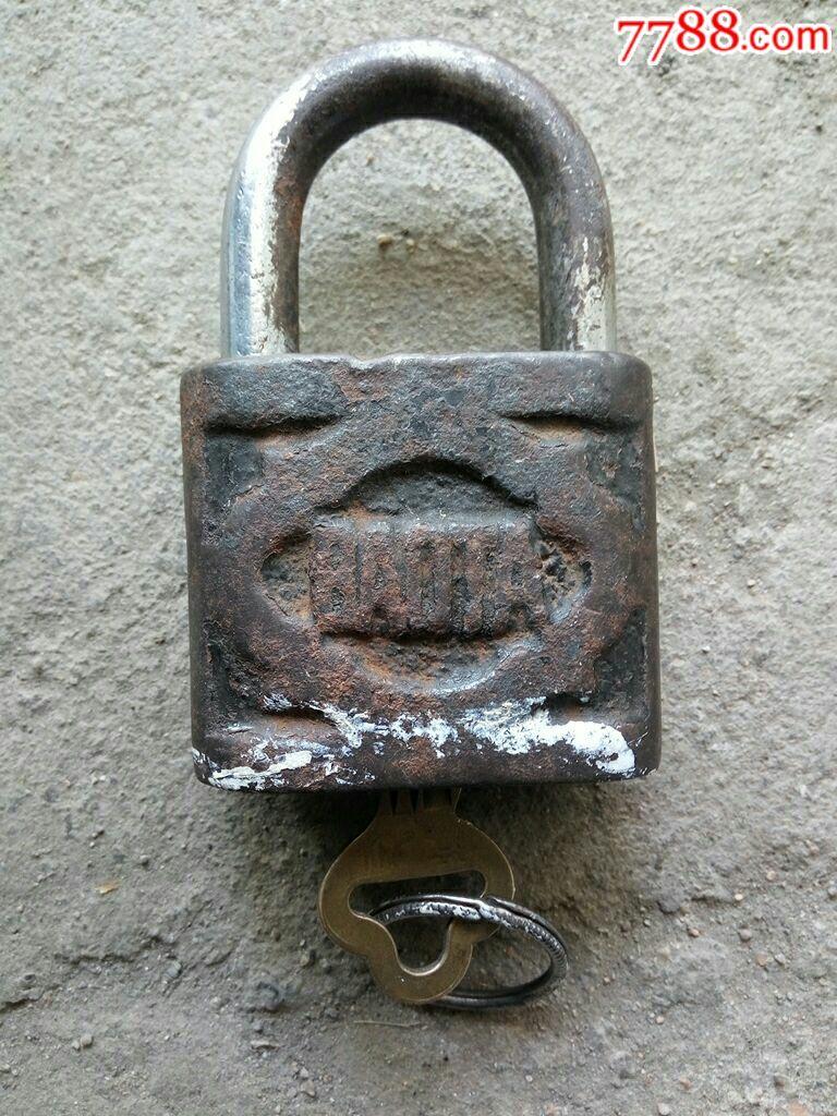 男士牌宝塔皮带扣配件铁锁图片
