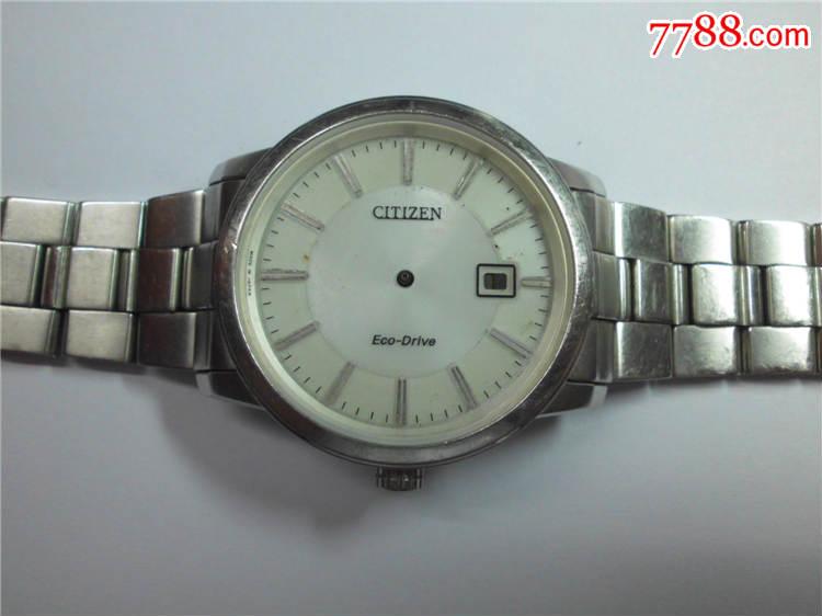 ebay竞拍购入manufacturer refurbished翻新西铁城BM7410