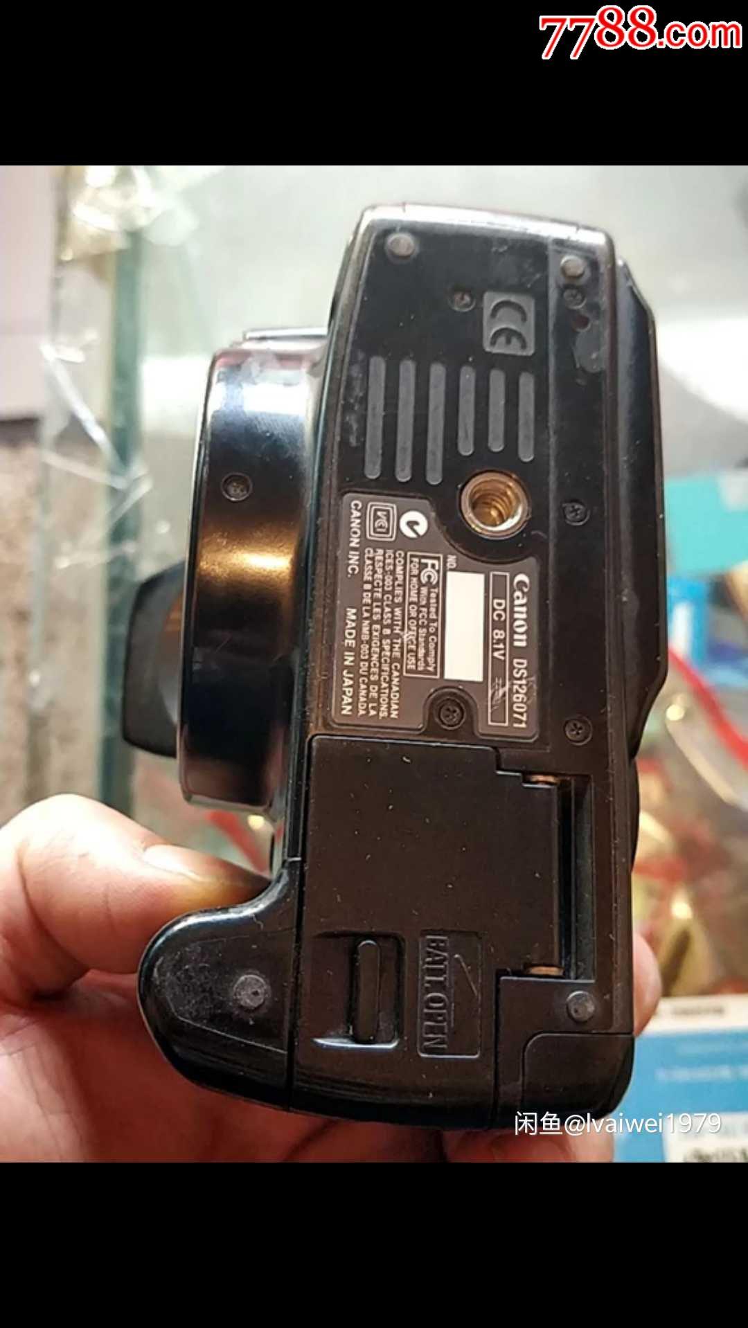 佳能经典350d单反相机机身