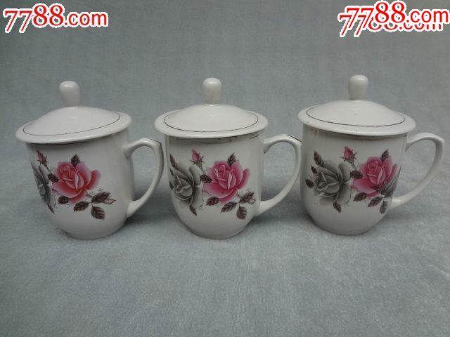 粉彩花卉老瓷盖杯,3套合出_价格183元_第7张_