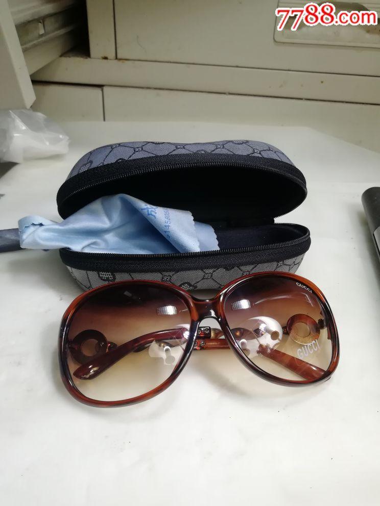 刚收的GUCCL太阳眼镜(au17993468)_