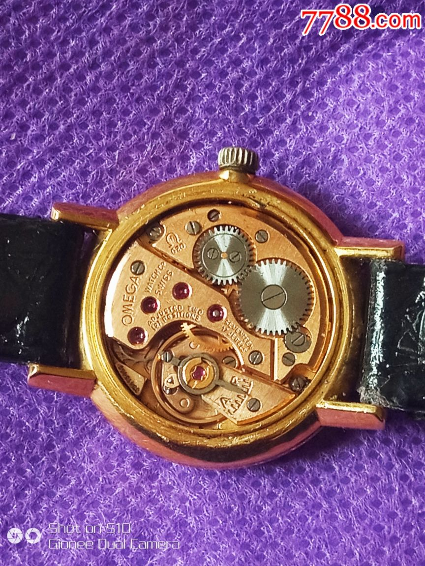 保老保真包金欧米茄625机芯女表-au18169986-手表/--_图片