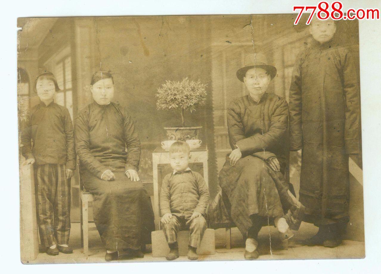 民国儿童家庭照图片