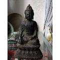 清早期或明末释迦牟尼铜像-¥2,339 元_铜像/铜佛像_7788网