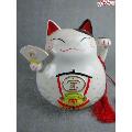 *老瓷器-招财猫老存钱罐老储币罐,造型漂亮