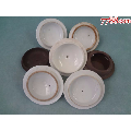 XB-各种不同样的老陶瓷茶杯盖子7只