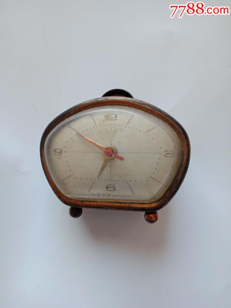 少见形制的白鸽马蹄表,有可能是早期最小的马蹄表了(au19409245)_