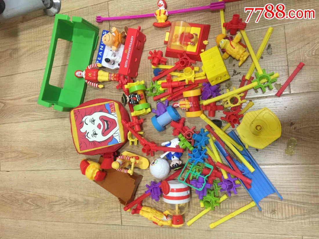一组麦当劳玩具(au19450606)_