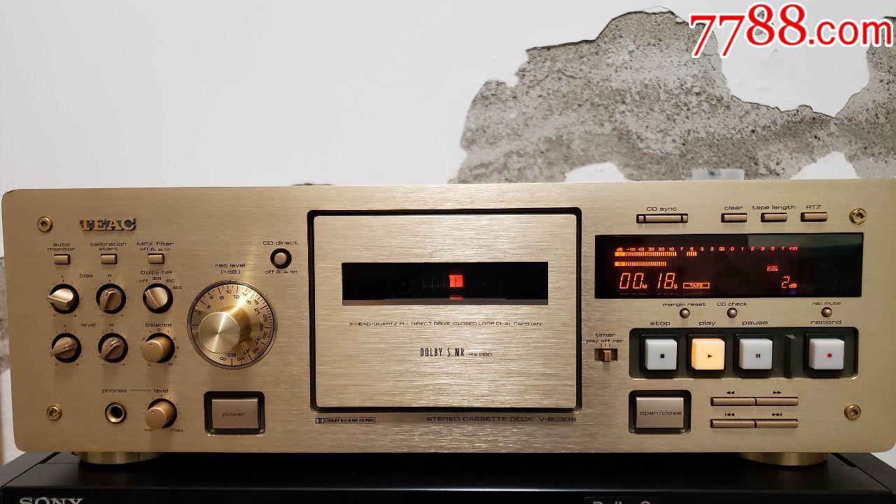 三磁头卡座第一音响Teac,型号8030S(au19587038)_