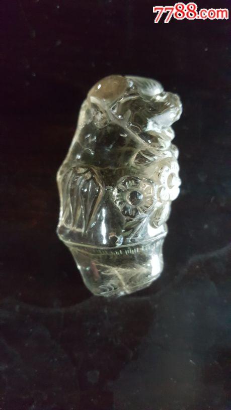 水晶把玩件(上面有个神兽)(au19635825)_