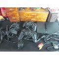 索尼PS2SCPH-70003游戏机一套配件全。