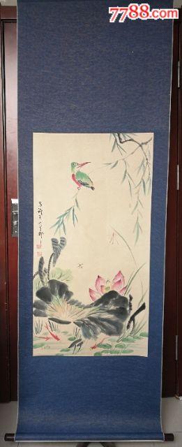 王雪涛(款)手绘作品画芯97×50(au19674071)_