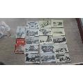 民国南京16枚明信片一套。
