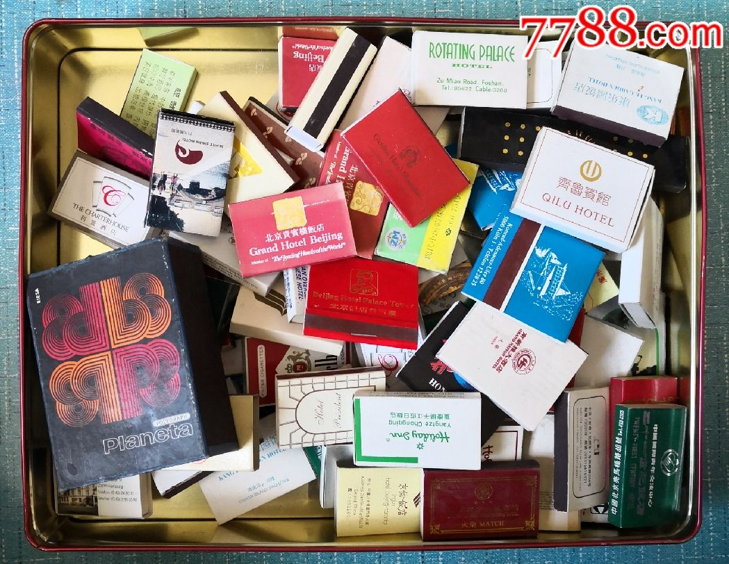 饭店火柴盒,76盒(au19698179)_