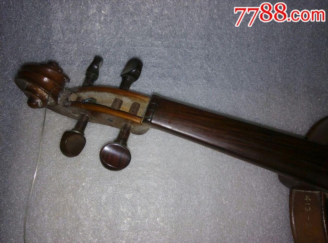 50年代东方红小提琴:琴长60公分