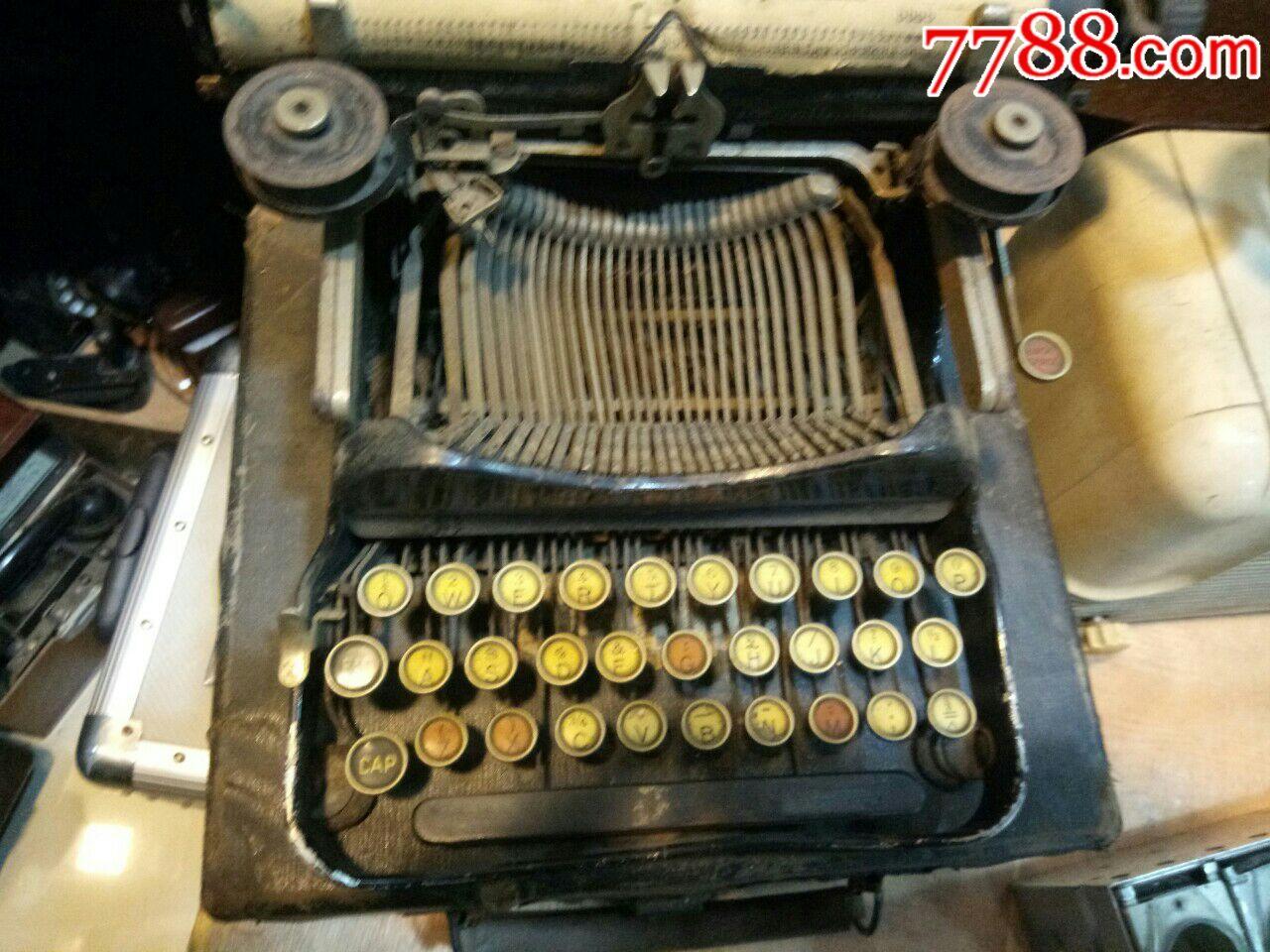 老的进口打字机_价格500元_第1张_