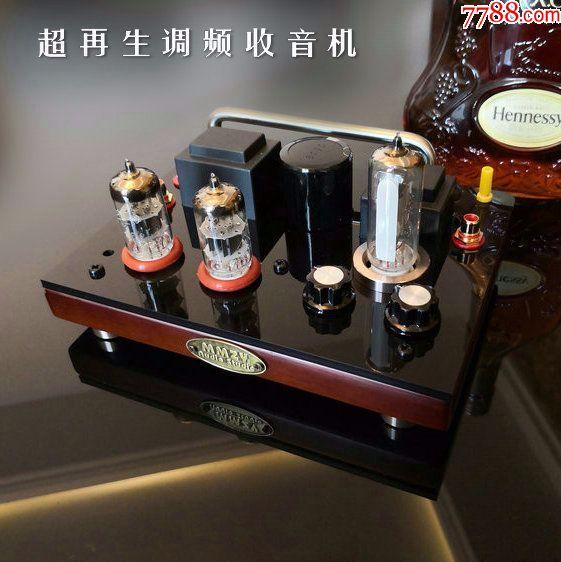 DIY超再生电子管FM调频收音机(au19809514)_