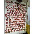 毛主席像章,大小共130个,合售,仔细看图片!品相自订
