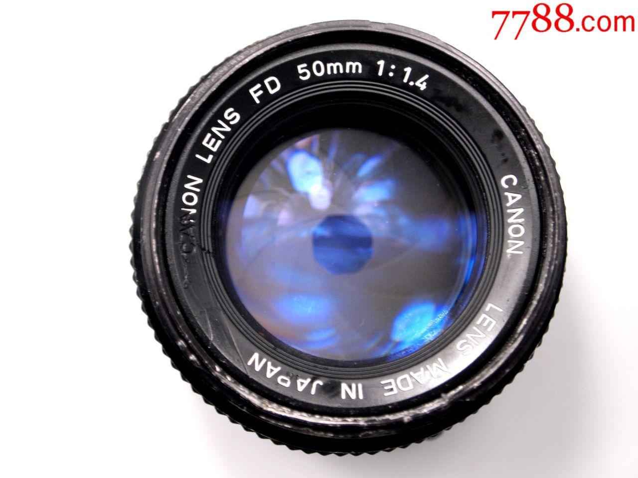 佳能原装镜头_F1.4_价格200元_第1张_