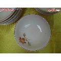 粉彩老瓷碟-一款非常素雅的花卉纹粉彩开片小瓷碟一套10只