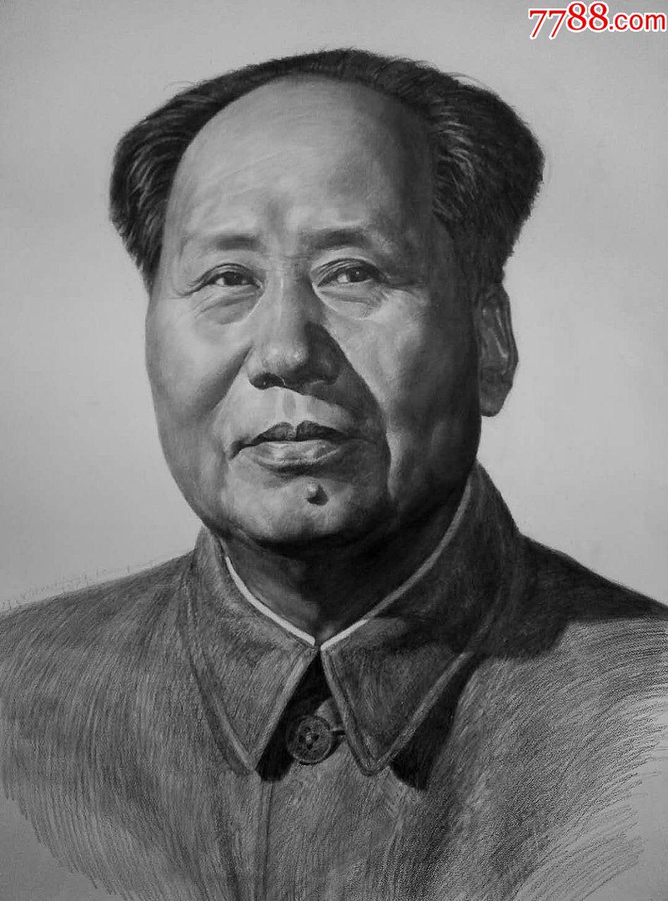 全�_毛主席素描��像(au20034628)_