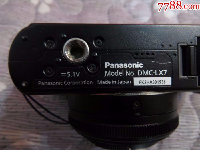 二手日本松下DMC-LX7�荡a相�C,可正常使用�]毛病_�r格450元_第7��_