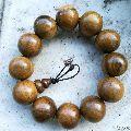 檀香木木雕2.0手串珠子直��2厘米