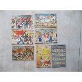 1950年中华人民共和国共和新禧大东书局敬贺,邮政明信片7张(au20110471)_7788收藏__收藏热线