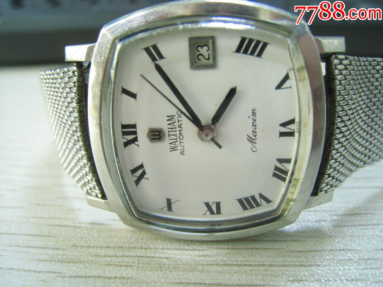 瑞士古董表华生(自动)男(au20116015)_