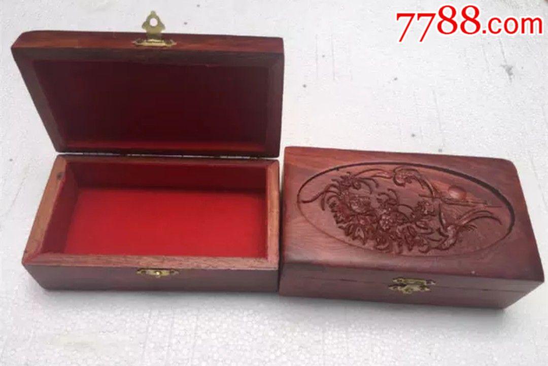 花梨木木雕盒子�L14厘米��7.5厘米高5.3厘米_�r格18元_第2��_