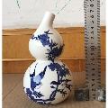 青花花鸟葫芦型易春酒酒瓶-¥100 元_酒瓶_7788网