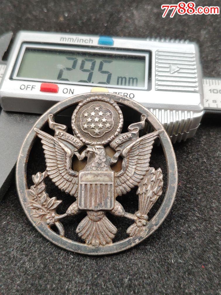 疑似银质老美军空军帽徽(au20150594)_