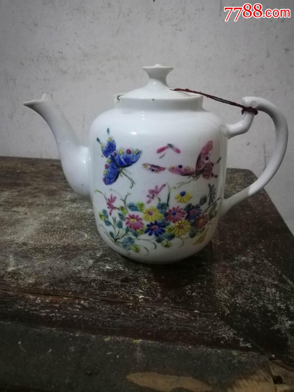 民国粉彩茶壶(au20258505)_