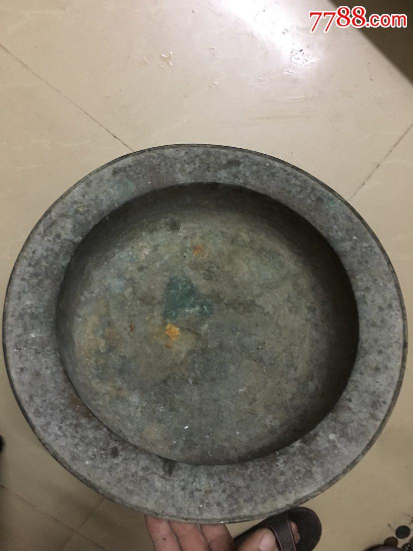 老铜盆一个2.4斤左右(au20278500)_