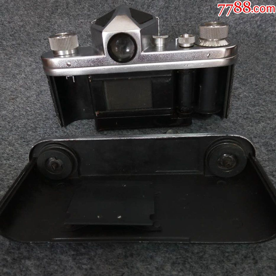 國產相機頂級藏品-第*代紫金山單反相機!品相一流,幾乎全新_價格71116元_第5張_