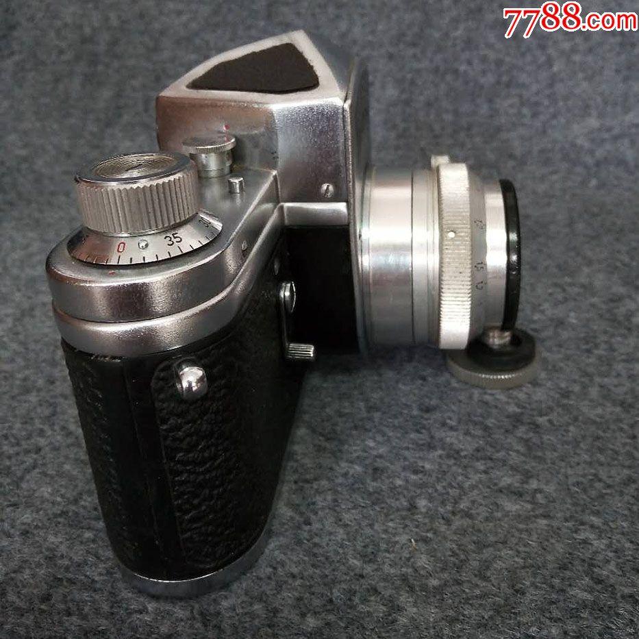 國產相機頂級藏品-第*代紫金山單反相機!品相一流,幾乎全新_價格71116元_第9張_