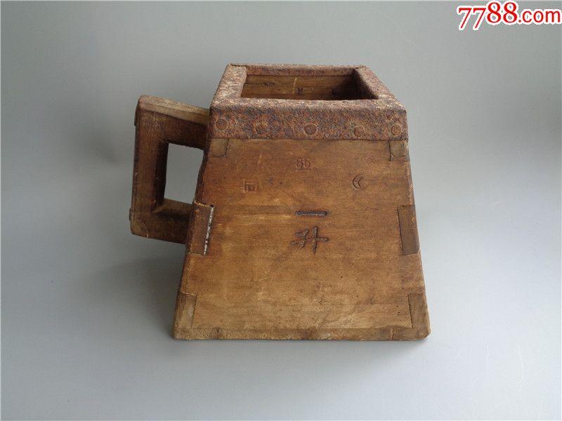 民國時期滿洲國一升小米斗_價格220元_第1張_
