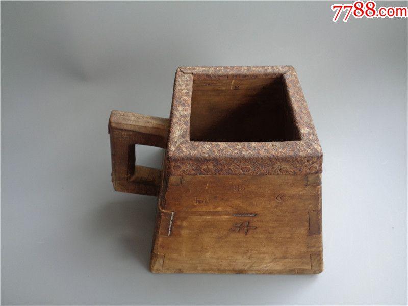 民國時期滿洲國一升小米斗_價格220元_第6張_
