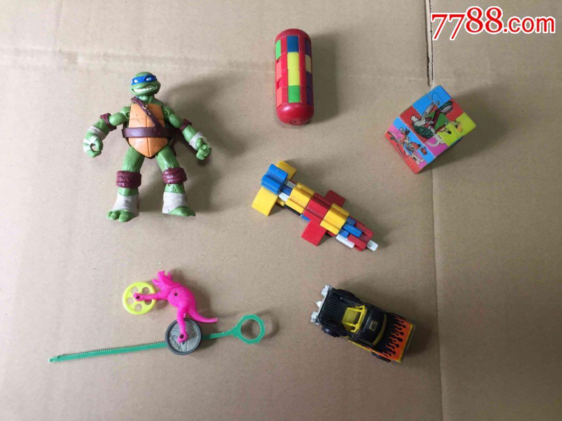 早期魔方+魔棍玩具+火柴盒金属车+其他老玩具合拍(au20394033)_