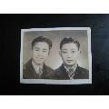 民国老照片;穿西装的两个帅哥-¥25 元_老照片_7788网