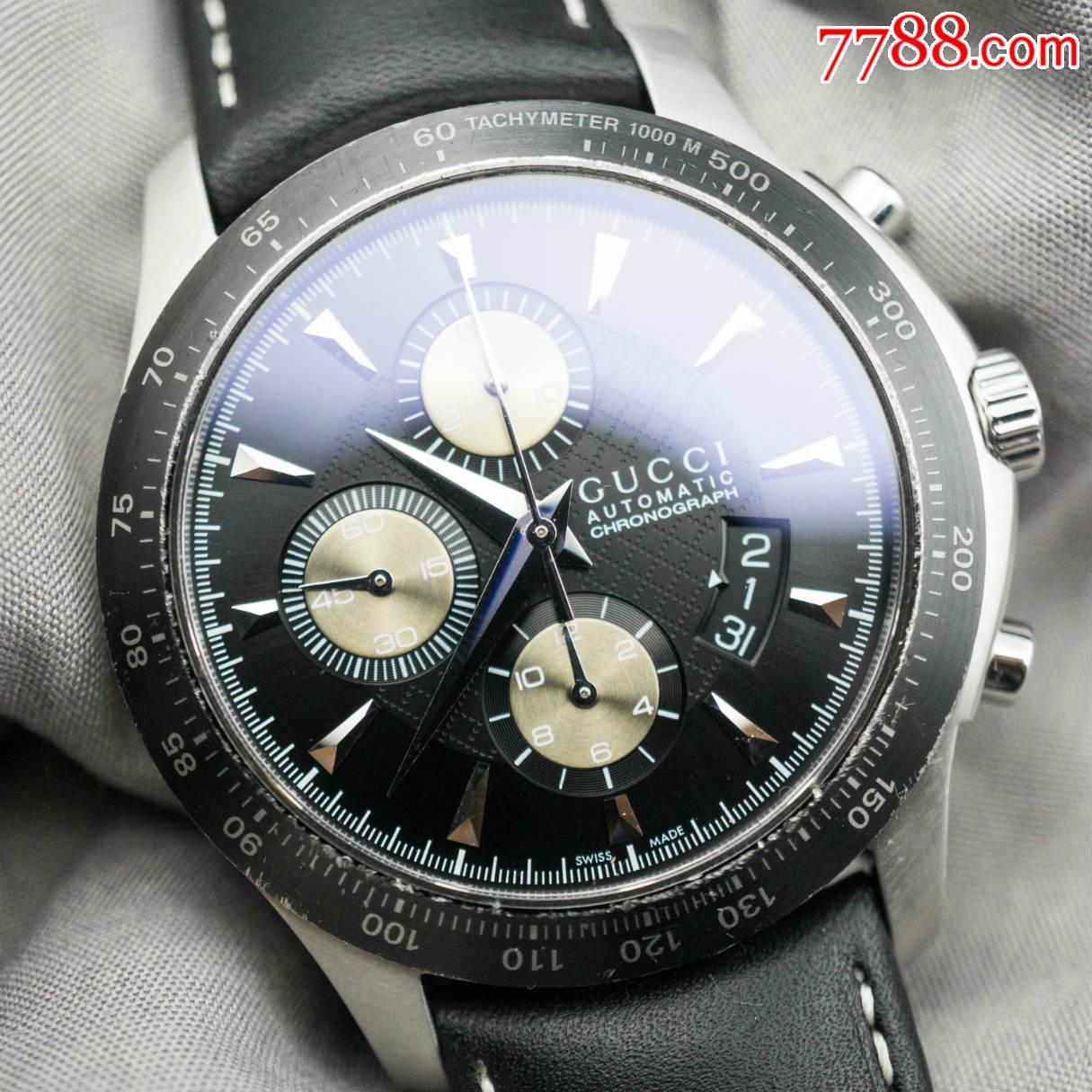 享�u世界��奢侈品牌-GUCCI-古�Y-G-TIMELESS系列自��C械��r男表(au20503942)_