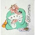 王老��四尺人物精品(zc20502948)_7788收藏__收藏�峋�