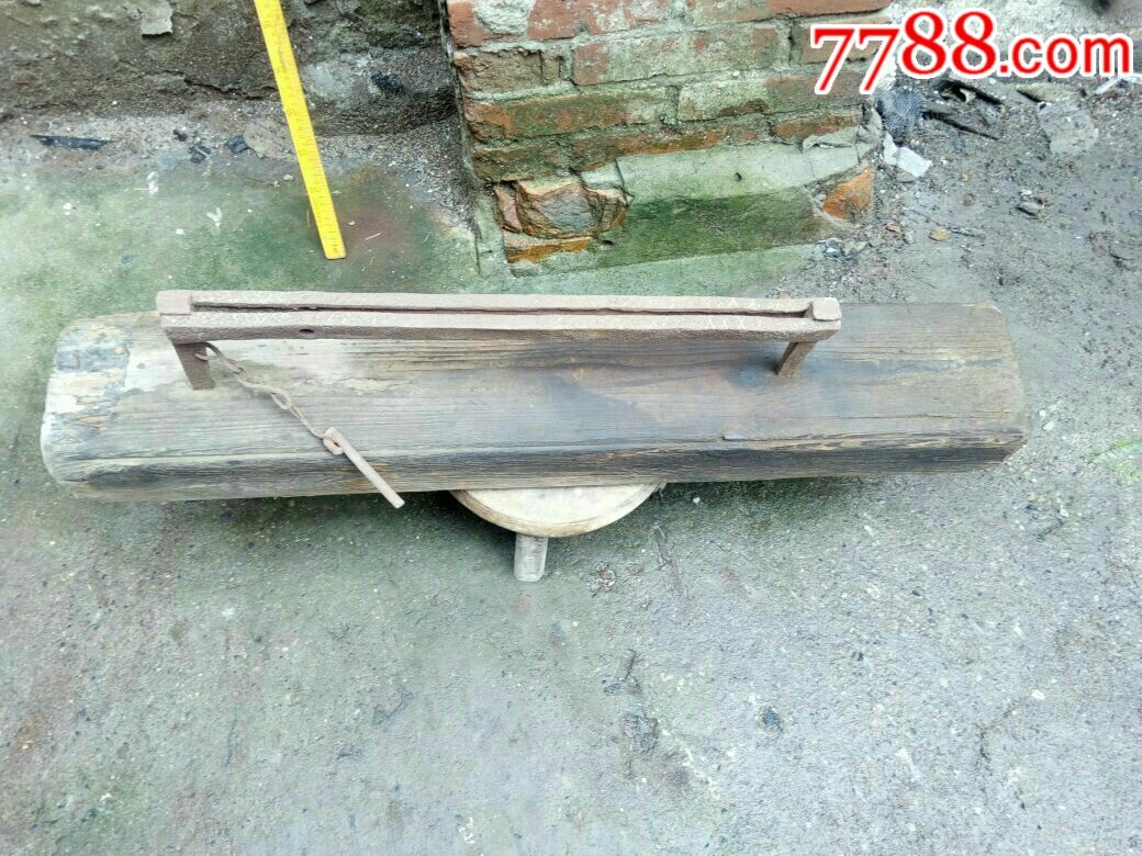 民俗工具收藏,用途不明的木制品_价格268元_第1张_