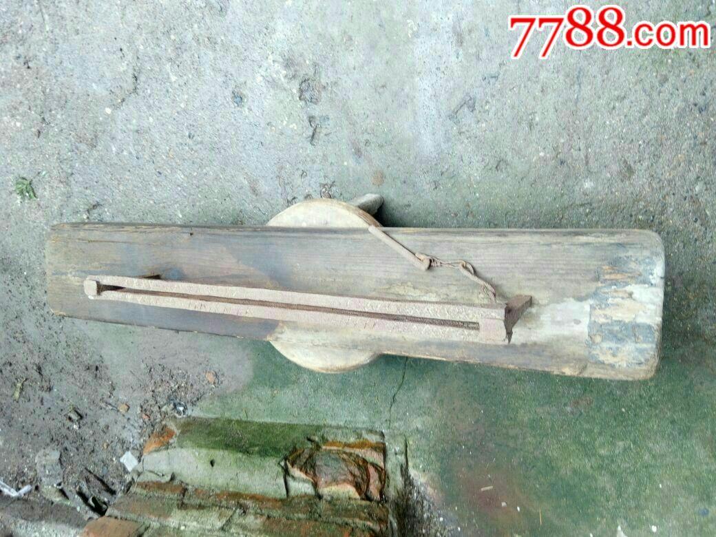 民俗工具收藏,用途不明的木制品_价格268元_第2张_