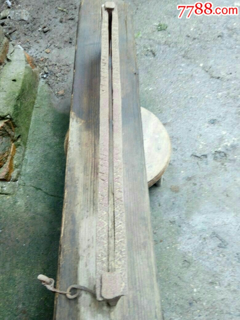 民俗工具收藏,用途不明的木制品_价格268元_第4张_